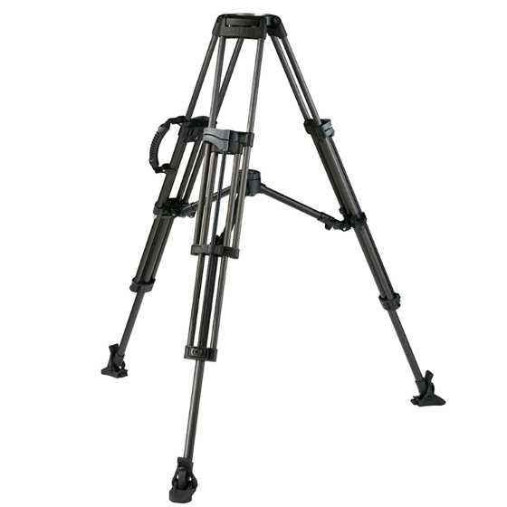 Miller Tripod Sprinter II 2 Stage Carbon Fibre Mid-level Spreader